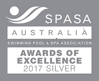 Spasa Excellence Award - safe2swim pool cleaning