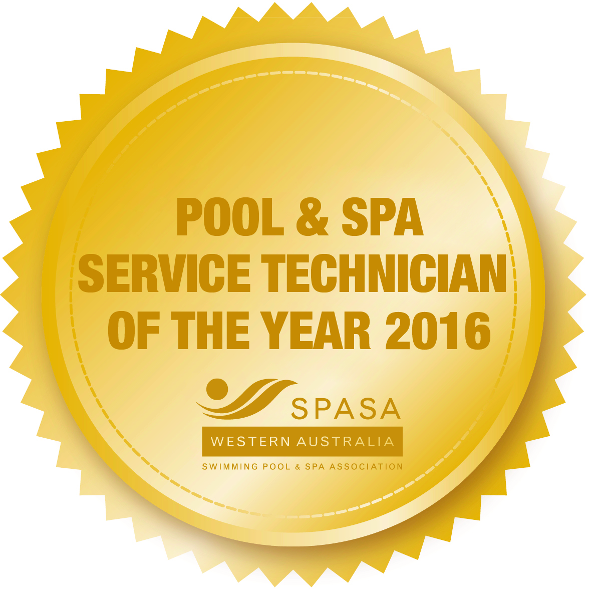 Pool and Spa Technician Award - safe2swim pool cleaning